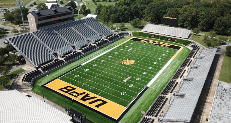 University Of Arkansas Pine Bluff Reveals New Ironturf Football Field